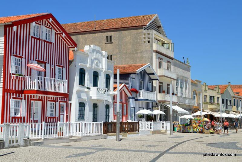 Stripy houses, Costa Nova, Aveiro