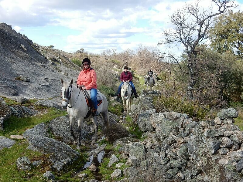 Horse riding near Marvão