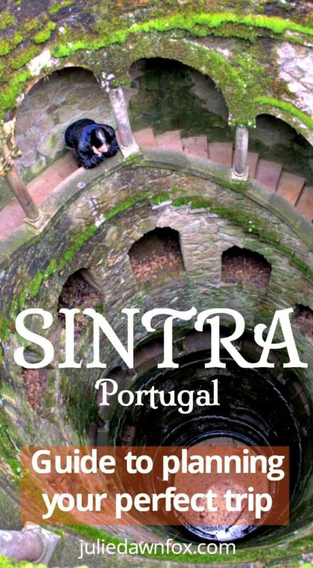 Deep well. Sintra is bursting with magnificent architecture, from rugged castles to fairy tale palaces, and some of its buildings are delightfully quirky. This charming town is within easy reach of a day trip from Lisbon, Portugal, but the chances are that, after reading this insider guide, you'll want to stay there longer!