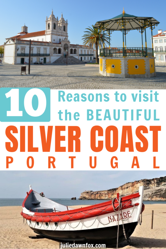 Bandstand and fishing boat. 10 Diverse Things To See And Do In Portugal's Silver Coast Area