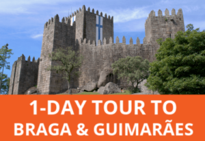 Visit 2 beautiful historical cities in 1 day, plus Bom Jesus sanctuary, on a small group tour from Porto.