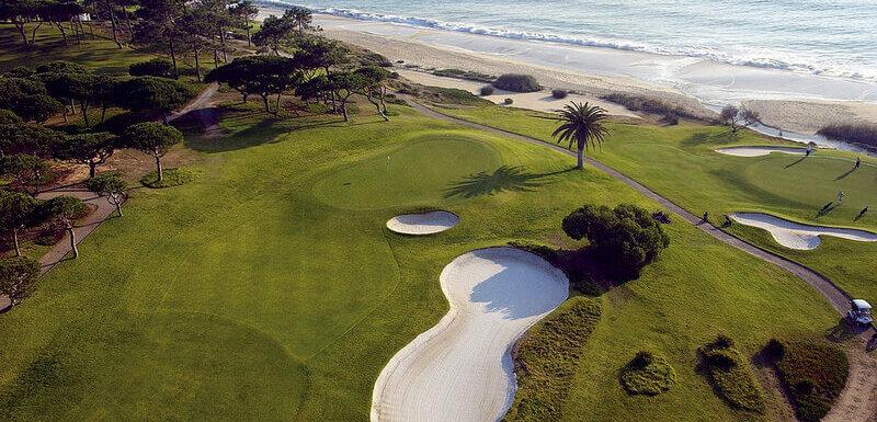 Vale de Lobo Ocean golf course, Algarve, Portugal