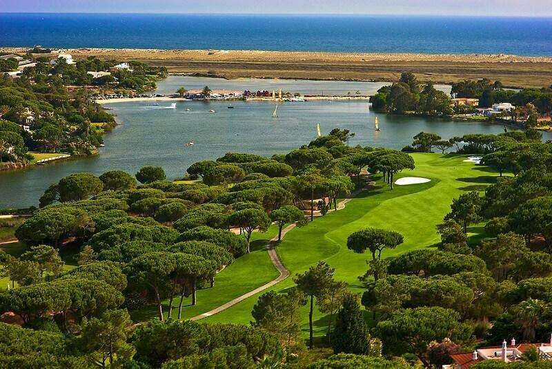 Quinta do Lago golf course, Algarve. Golf in Portugal
