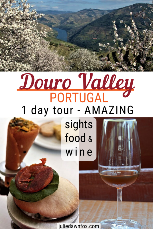 Sights, food and wine. A Luxurious Douro Valley Day Trip From Porto _ Julie Dawn Fox in Portugal