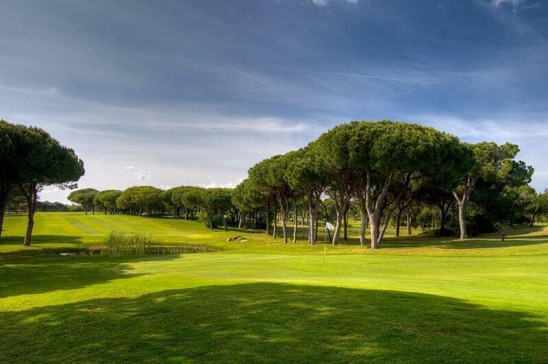 Vila Sol golf course, 14th hole. Algarve golf courses