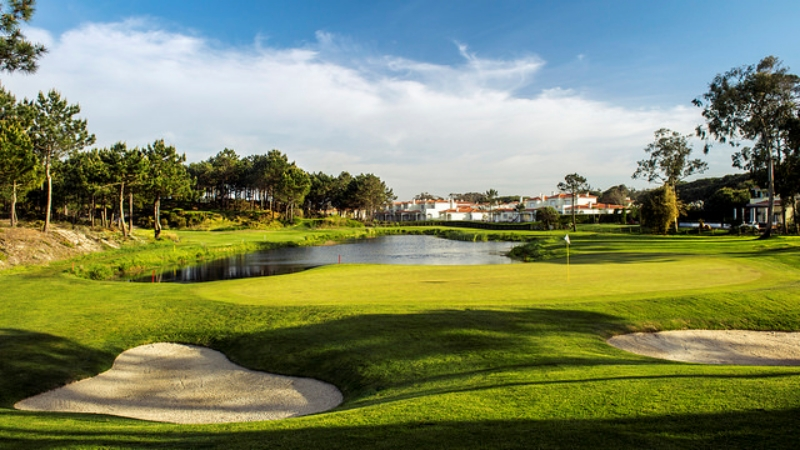 Praia D'EL Rey golf course, Silver Coast Portugal