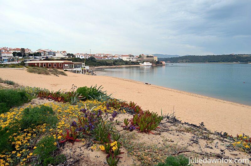 Vila Nova de Milfontes and river beach