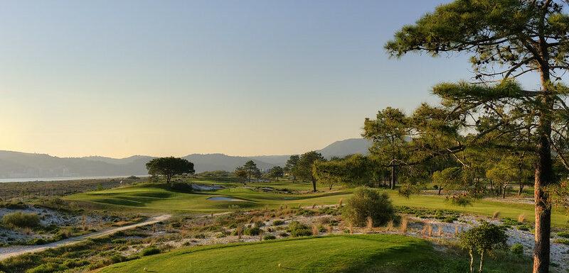 Views from Troia Golf course near Lisbon Portugal
