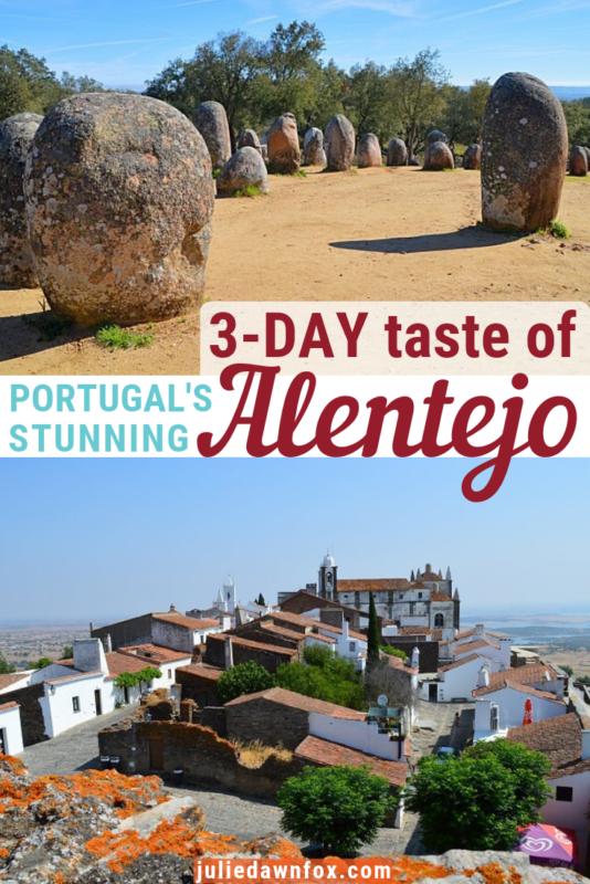 Stones and hilltop village. 3-Days Taste Of The Alentejo Itinerary (From Lisbon) _ Julie Dawn Fox in Portugal