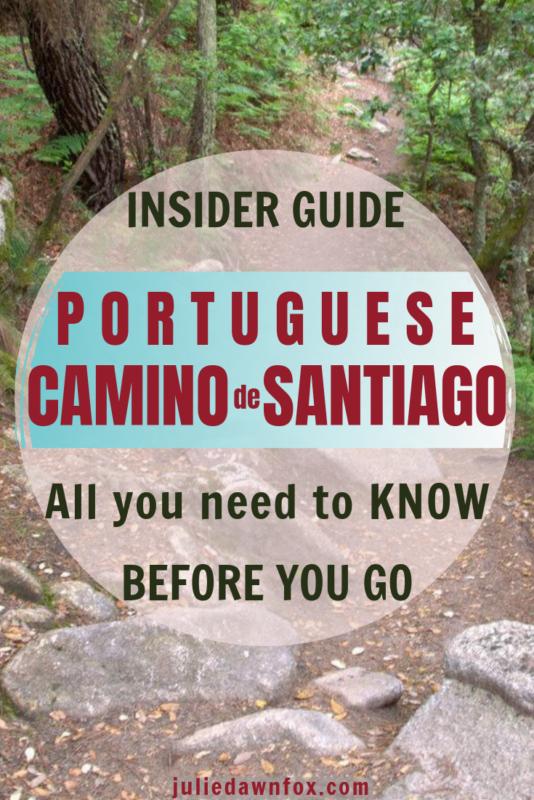 Walking path. Camino Português Coastal And Central Routes from Porto. Essentials
