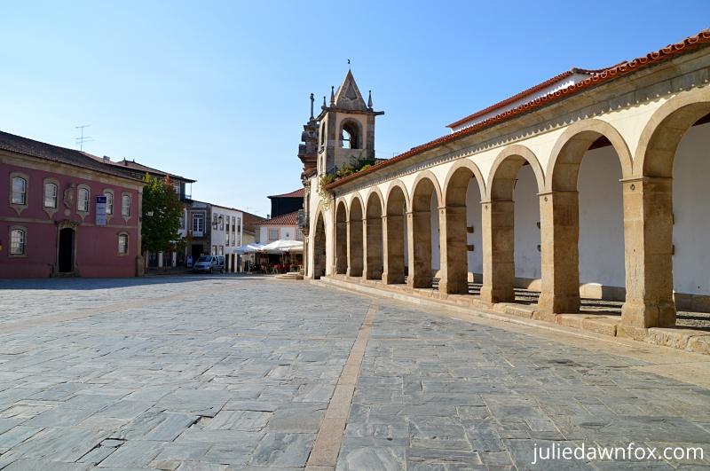 Praça da República, São João da Pesqueira, Douro Wine region