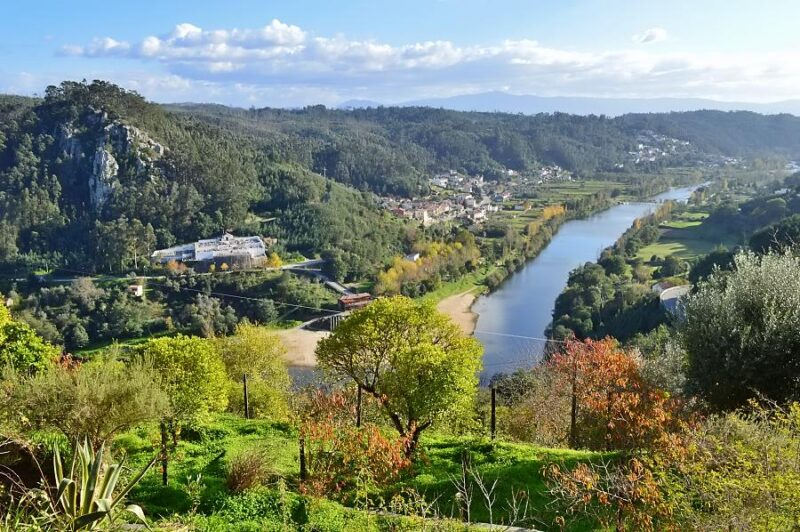 View of Mondego River from Penacova