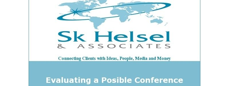 Evaluating a Possible Conference Presentation
