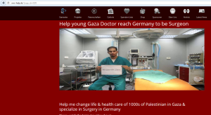 the doctor wants money to go to Germany