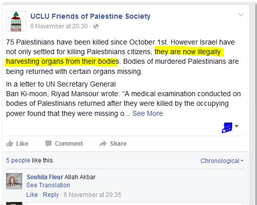 ucl blood libel