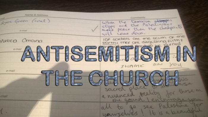 antisemitism in the church