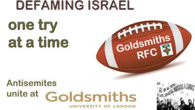 goldsmiths antisemitism