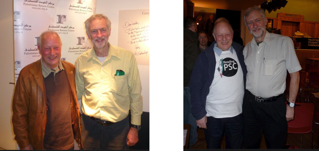 corbyn with antisemite
