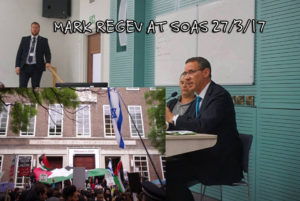 Mark Regev, SOAS