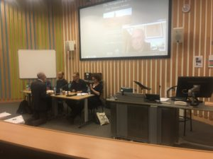 Hannah Weisfeld at University of Sussex