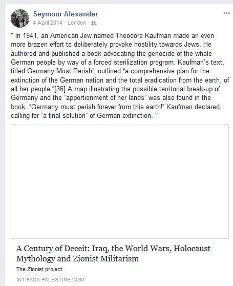 Seymour Alexander Holocaust