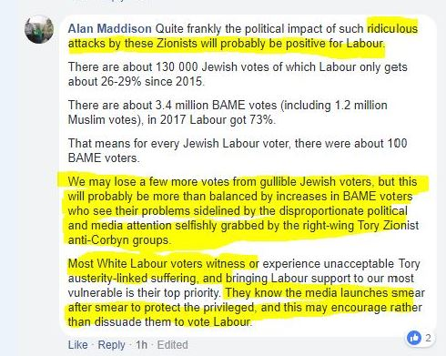 Alan Maddison, Labour Against the Witch-Hunt