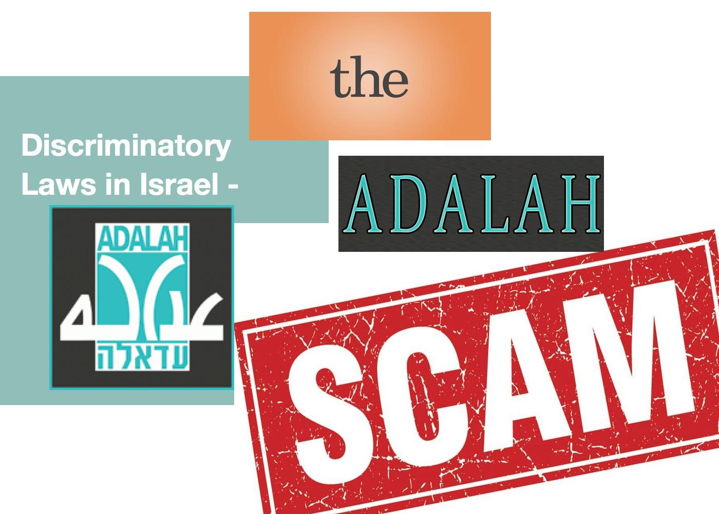 Adalah discriminatory laws scam