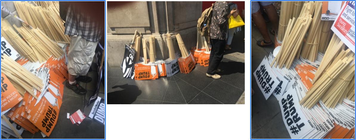 Friends of Al Aqsa banners