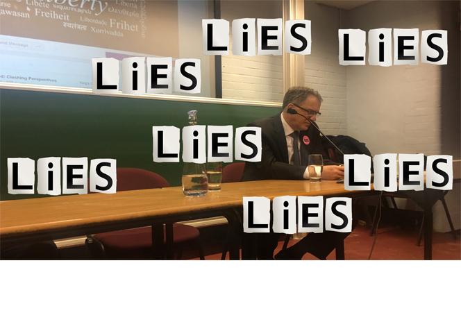 Miko Peled lies