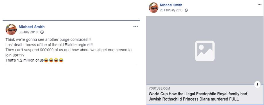 Michael Smith antisemitic