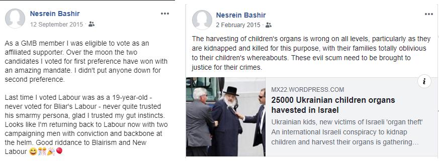 Bashir antisemitic
