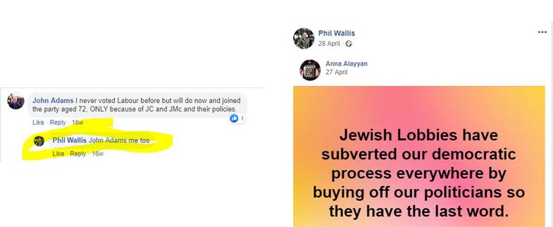 phil wallis antisemitic
