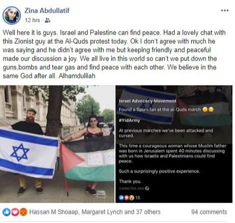 Zina with the Zionist