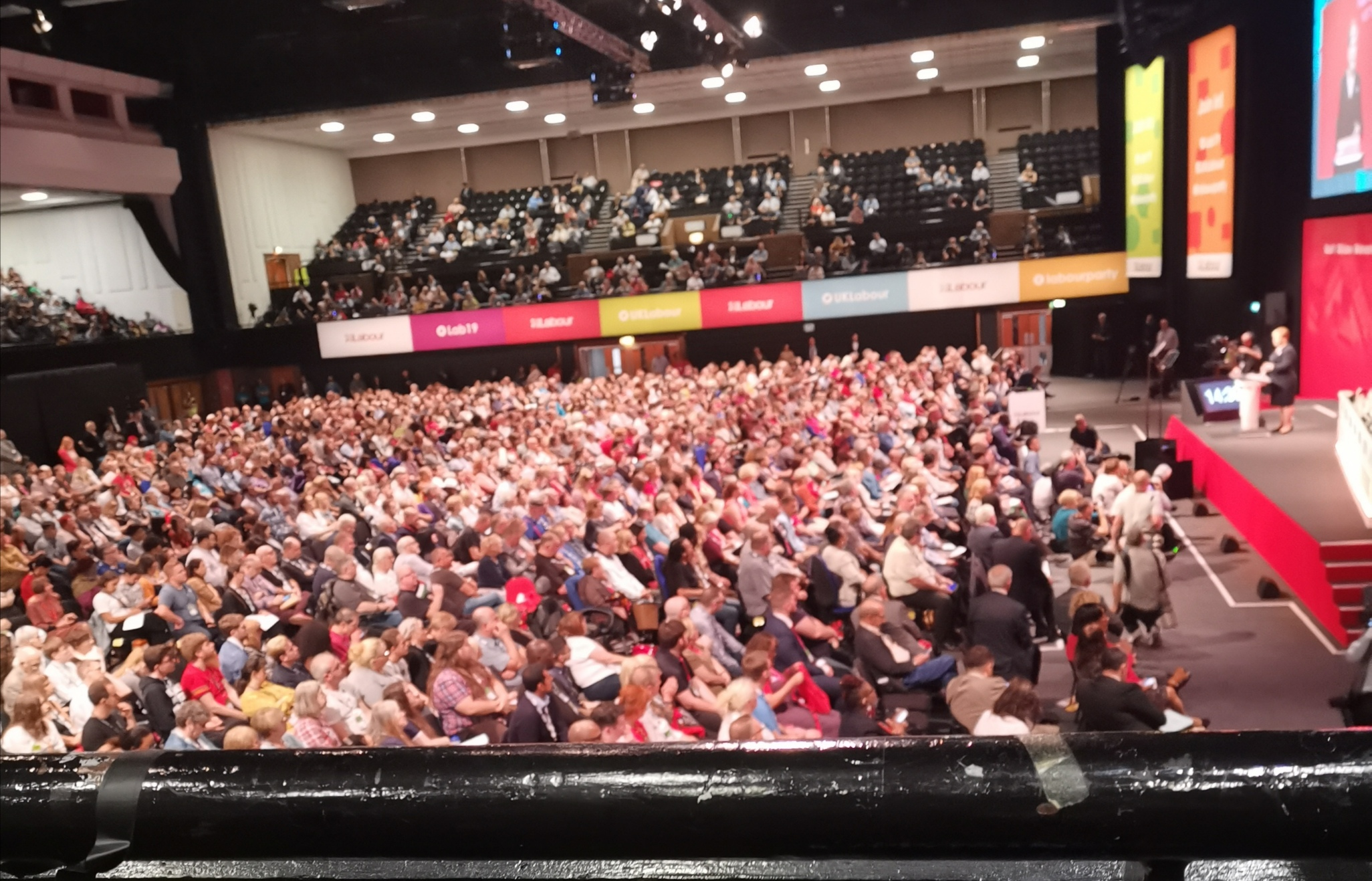obsession at the Labour Party conference