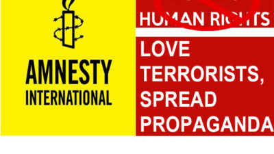 love terrorists Amnesty