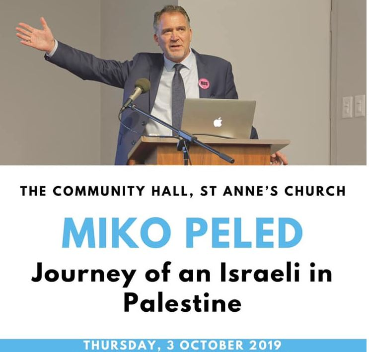 Miko Peled at St Anne's Church
