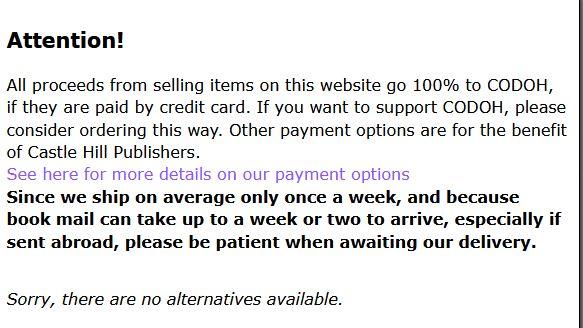 Amazon Castle Hill Publishers