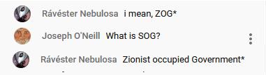 Zionist occupied government