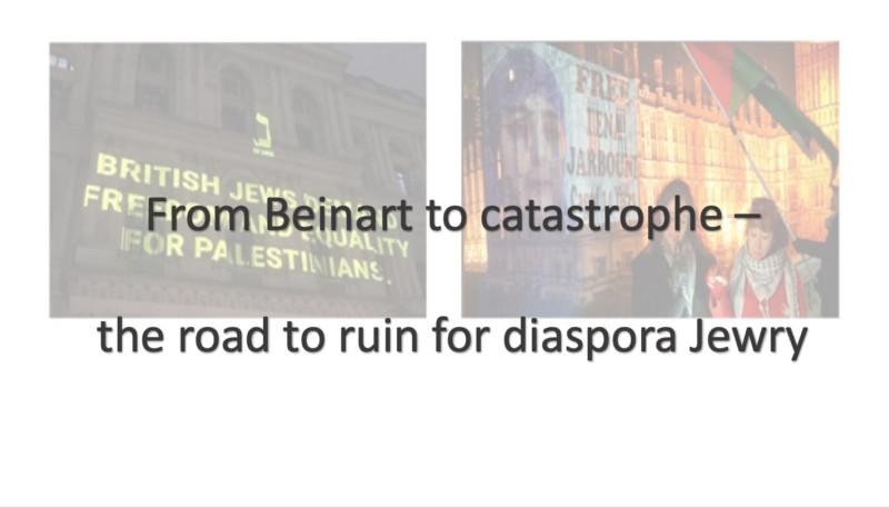 Beinart - road to ruin