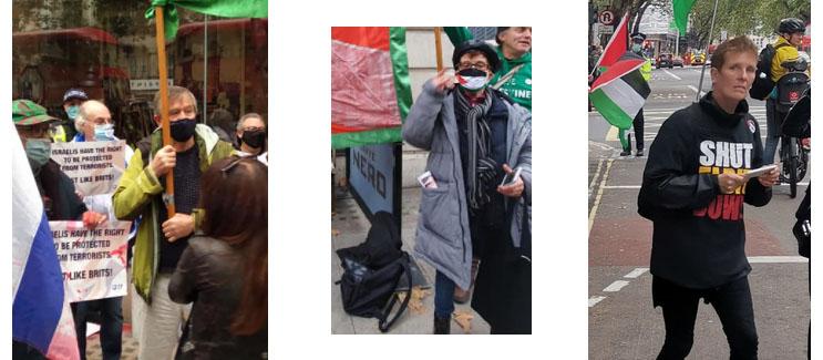 PALESTINE ACTION PROTEST ELBIT