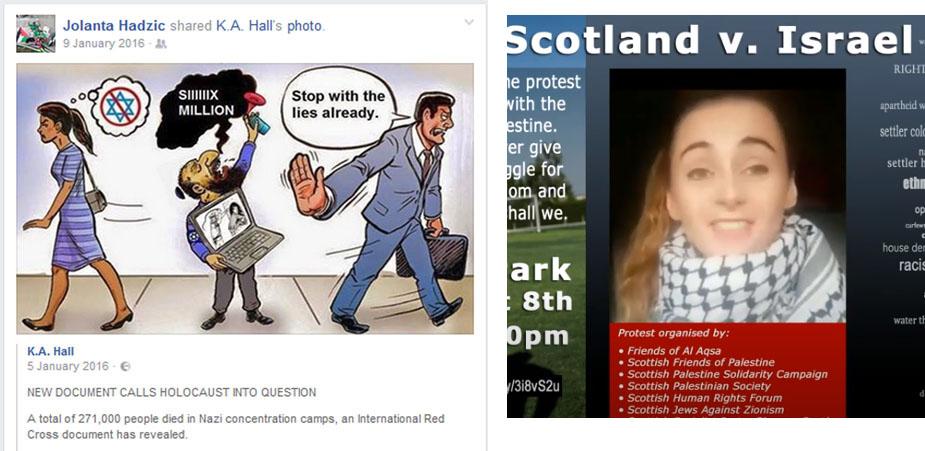 Scottish PSC Jola Aljhakbeer