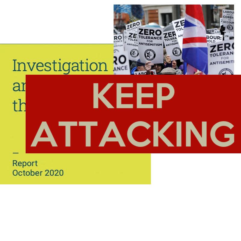EHRC keep attacking