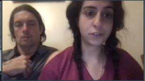 Huda Ammori and Richard