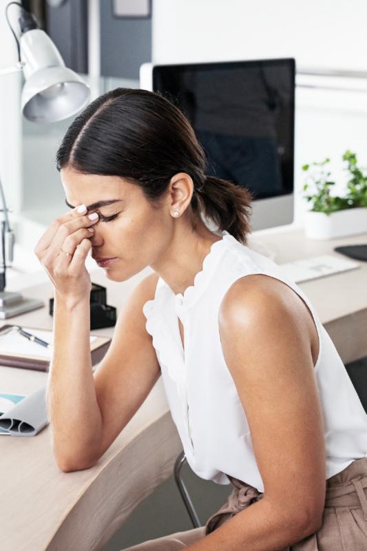Una manera de aliviar los dolores de cabeza sin medicamentos