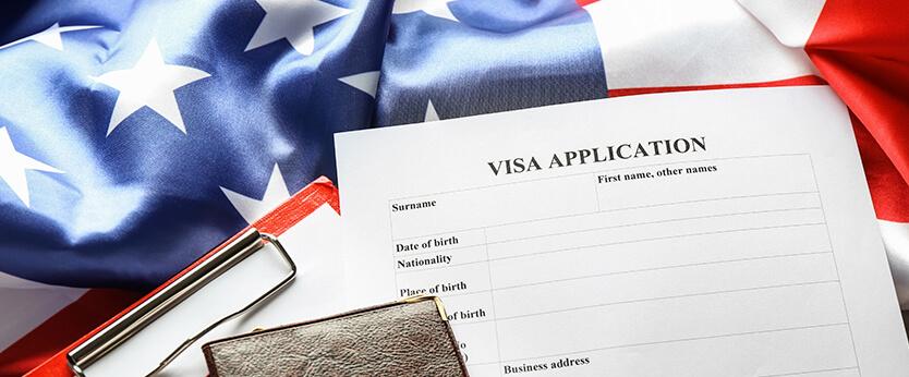 Visa application picture