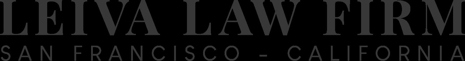 Leiva Law Firm Logo