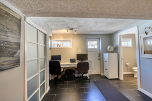 23 Braden Cres NW - Walk-up entry and office area