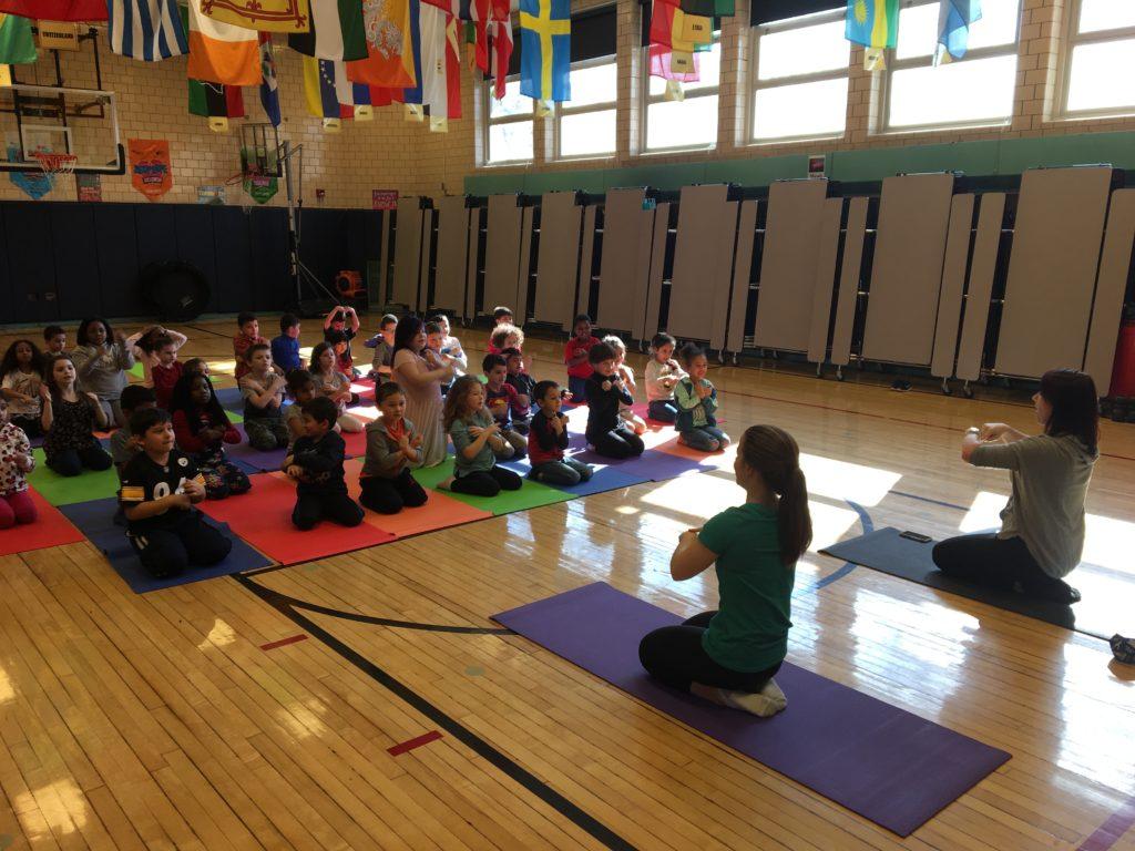 First Grade Yoga