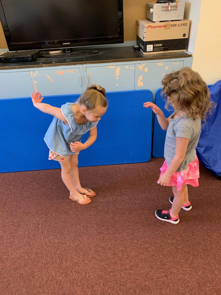 Learning dance etiquette