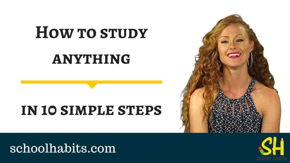 How to study anything